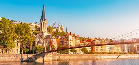 Aperçu du Vieux-Lyon
